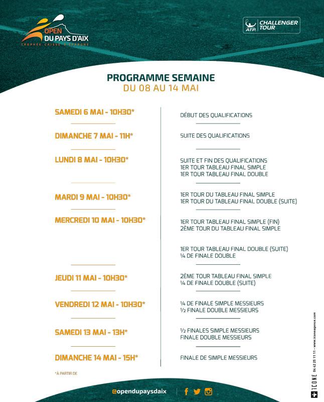 Programme-semaine